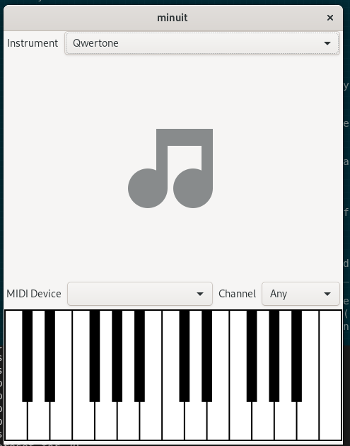 UI for generic instrument placeholder